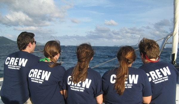 Kobs Closuit British Virgin Islands Sailing Trip 2008 T-Shirt Photo