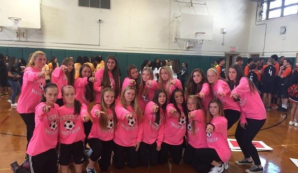 Hicksville Girls Varsity Soccer T-Shirt Photo
