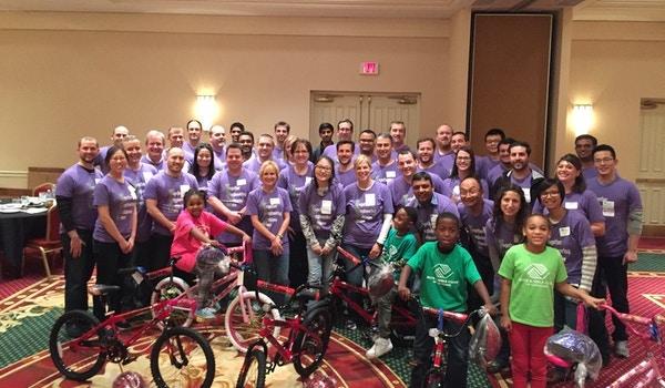 Building Bikes For Boys & Girls Club T-Shirt Photo