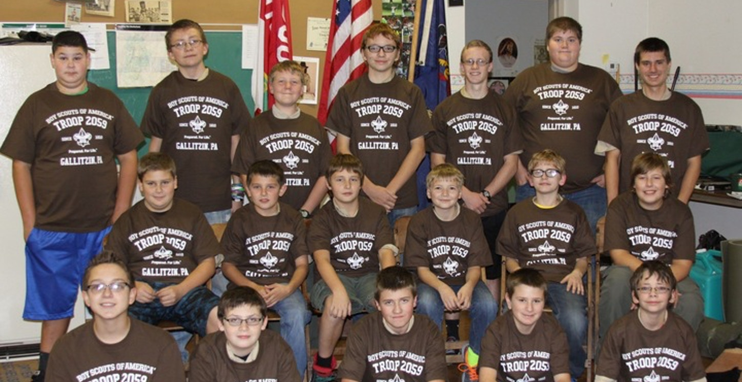 Proud To Be A Boy Scout T-Shirt Photo