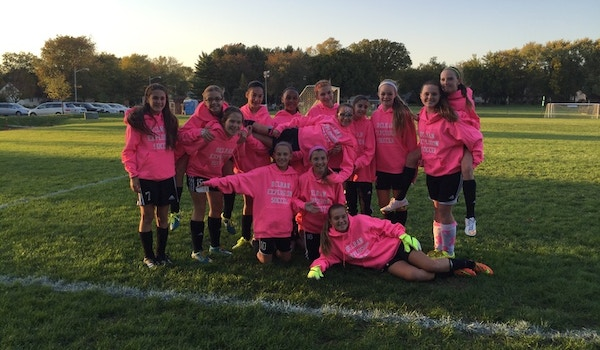 Explosion Rockin Their Pink Breast Cancer Awareness Hoodies!!! T-Shirt Photo