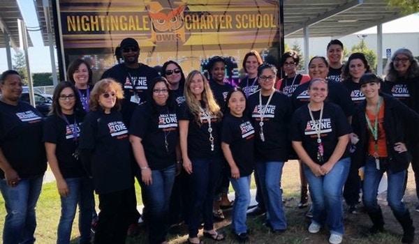 Nightingale Charter United Against Bullying! T-Shirt Photo