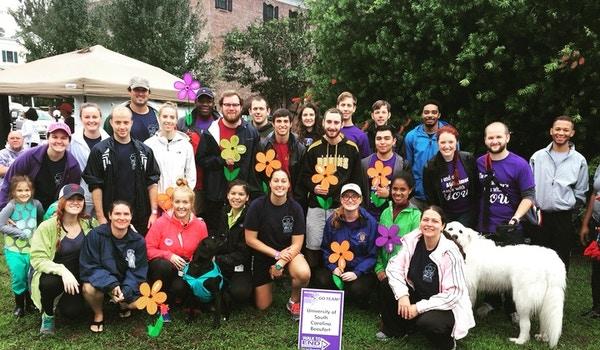 Uscb Psychology Club Walking To End Alzheimers  T-Shirt Photo