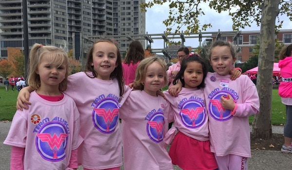 Team Allison   Walking For A Cure T-Shirt Photo