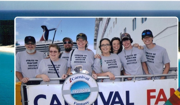 Slocumb Family Cruise 2015 T-Shirt Photo