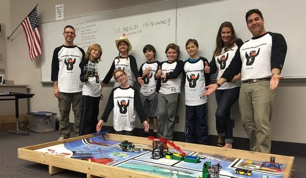 Thunder Peng Wins Robotics Team Love Custom Ink T-Shirt Photo