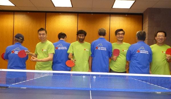 Los Alamos Table Tennis Club T-Shirt Photo