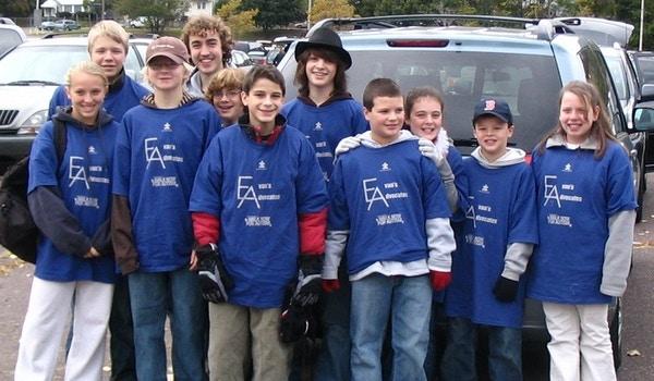 Evan's Advocates T-Shirt Photo