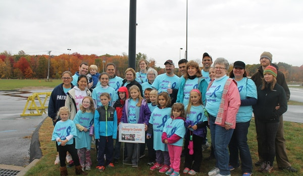 Challenge For Charlotte Team For Jdrf One Walk T-Shirt Photo
