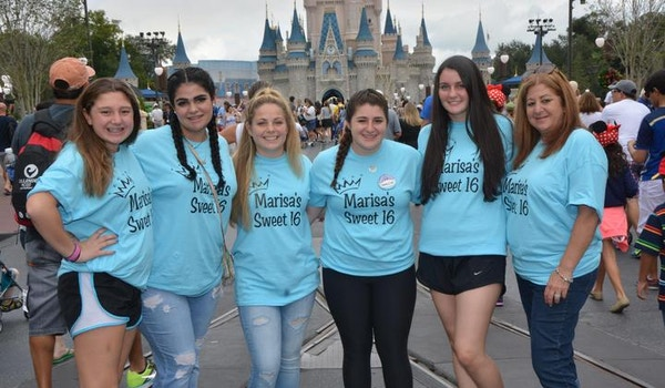 Disney Sweet 16 T-Shirt Photo