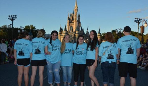 Disney Marisa's Sweet 16 T-Shirt Photo