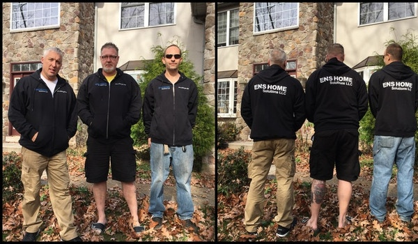 The Crew With Their New Zip Ups! T-Shirt Photo