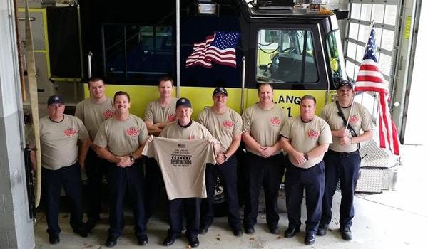 Erlanger Fire Patriotic Shirt T-Shirt Photo