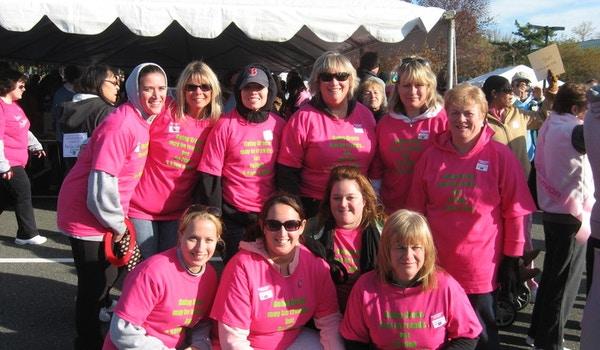 Breast Cancer Walk 2008 T-Shirt Photo