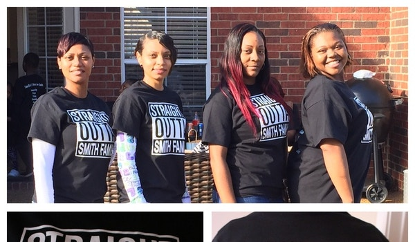 Straight Outta Smith Family T-Shirt Photo