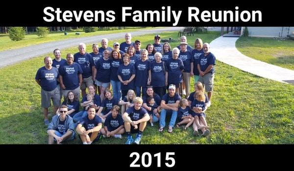 Stevens Family Reunion 2015 T-Shirt Photo