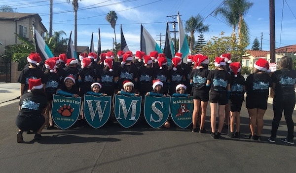 Wms Drill Team Take Over Christmas Parades T-Shirt Photo