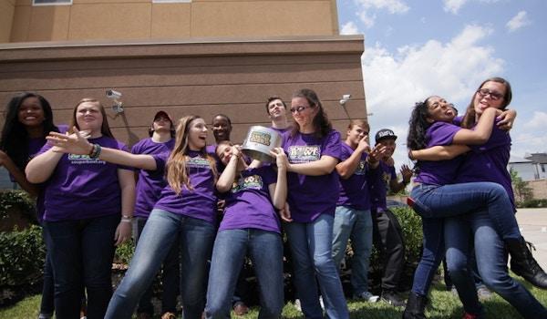 National Youth Advisory Board Having Some Fun In Their Custom Ink Shirts T-Shirt Photo