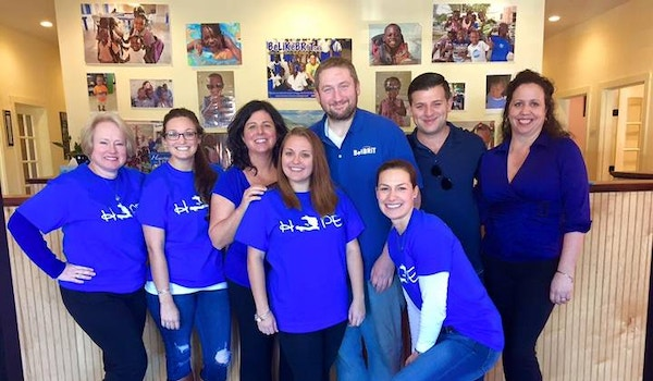 Hope For Haiti, And #Blue For Brit T-Shirt Photo