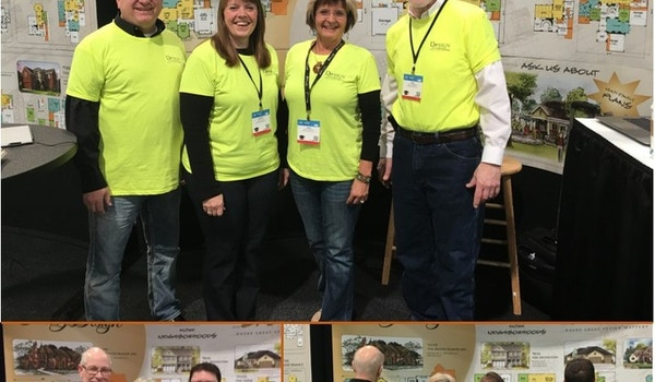 """""""Standing Out"""" At The International Builders Show! T-Shirt Photo"""