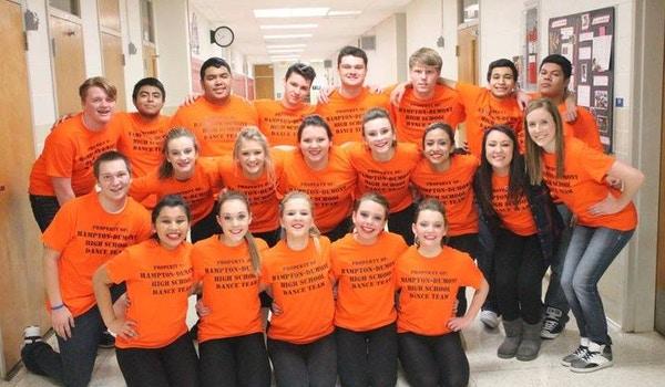 Hampton Dumont High School Co Ed Dance Team T-Shirt Photo