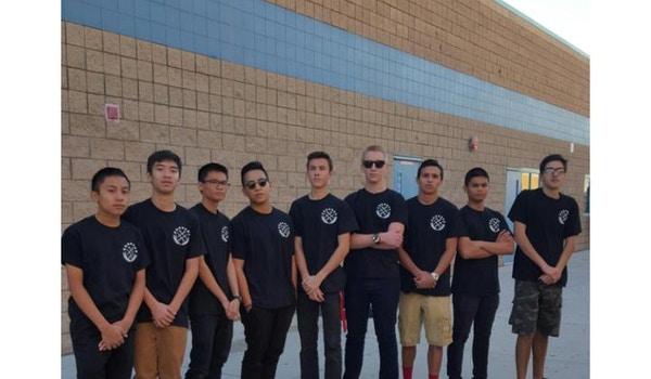 Great Oak High School Afjrotc Saber Squad T-Shirt Photo