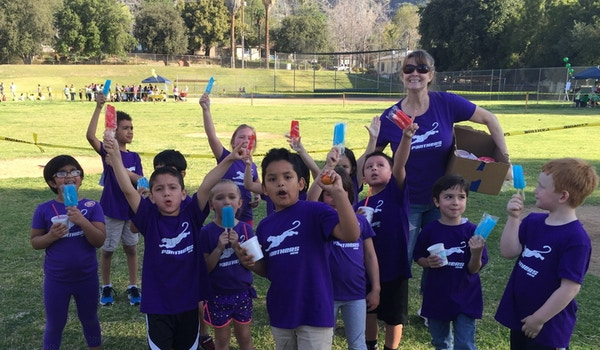Popsicles For The Purple Panthers After The Jog A Thon! T-Shirt Photo