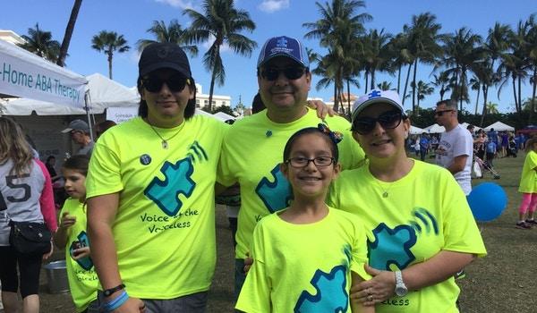 At The Autism Walk Palm Beach T-Shirt Photo