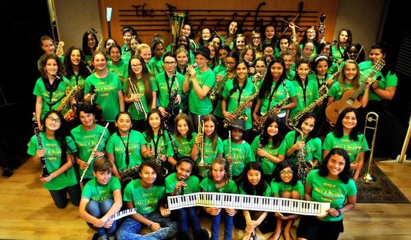 Jazzschool Girls' Jazz & Blues Camp, Berkeley, Ca T-Shirt Photo