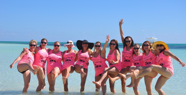 Sisa's & Kat's B Day Crew T-Shirt Photo