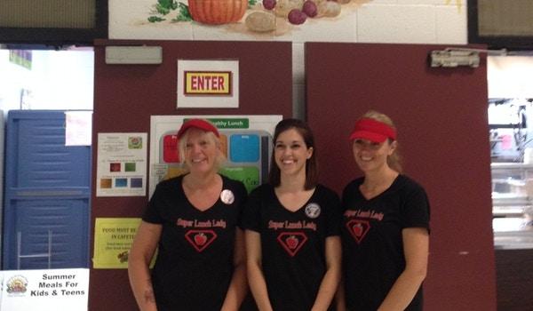 Super Lunch Ladies T-Shirt Photo