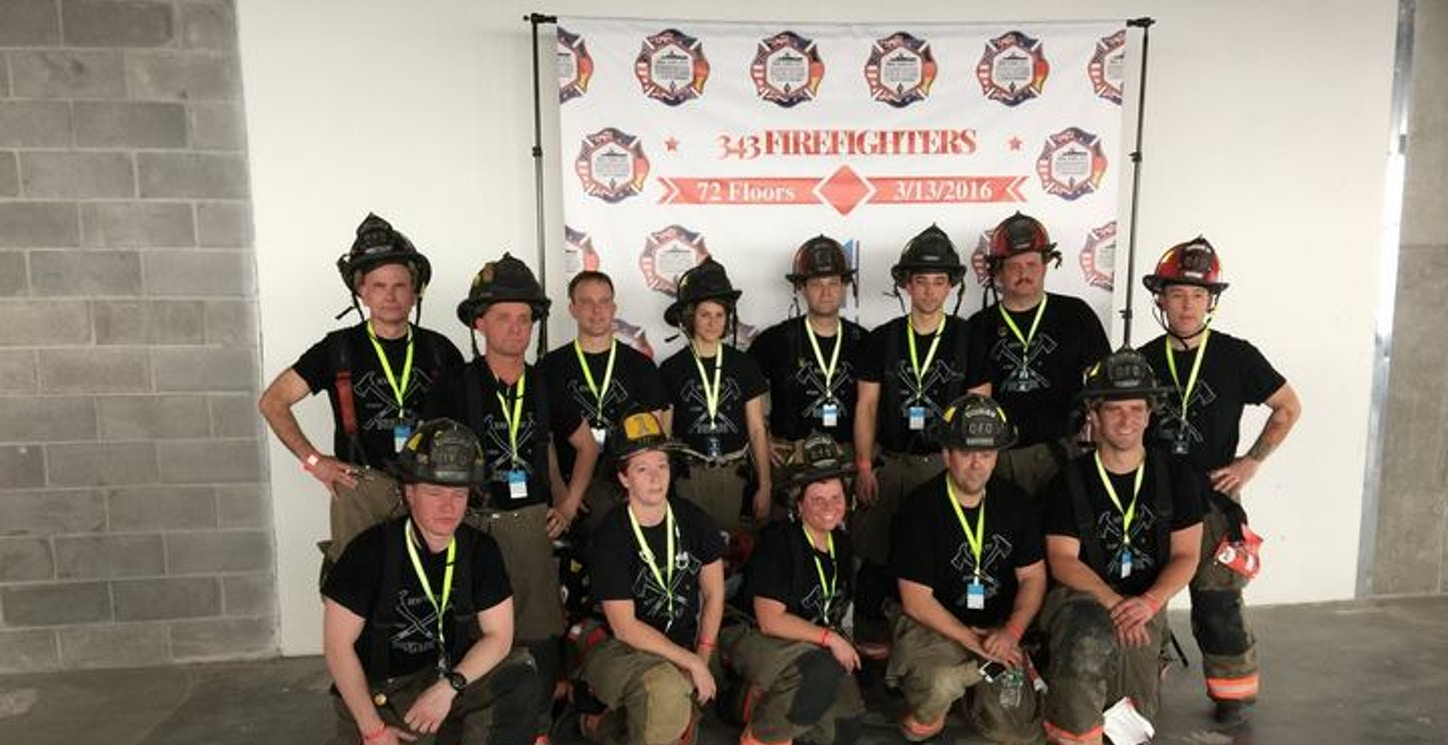 Benevolent Brigade   Supporting Charitable Causes While Promoting Firefighter Health And Fitness T-Shirt Photo