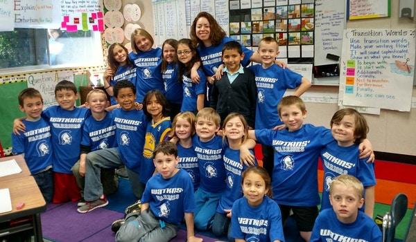 Proudest 2nd Graders! Watkins' Warriors! T-Shirt Photo