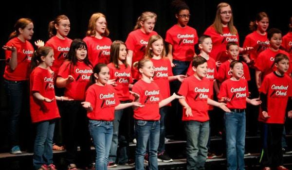 Cardinal Chords Choir T-Shirt Photo