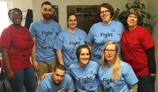 Fight For Air Climb 2016 T-Shirt Photo