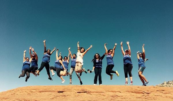 Team Bride Takes Sedona T-Shirt Photo