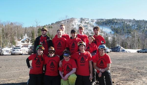 Ski Club At Mount Bohemia Michigan T-Shirt Photo