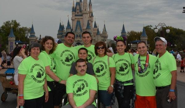 Robert And Alex's Birthday At Walt Disney World T-Shirt Photo