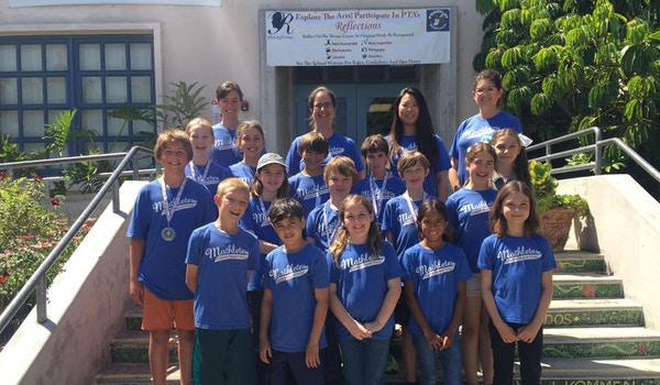 Franklin Magnet School's 2016 Math Field Day Team T-Shirt Photo
