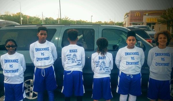 Da Underdogs Basketball Team T-Shirt Photo