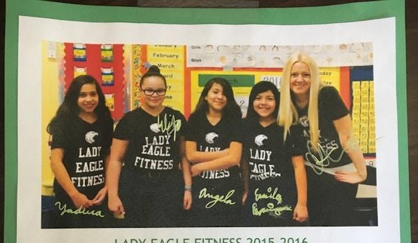 Lady Eagles Fitness Club T-Shirt Photo