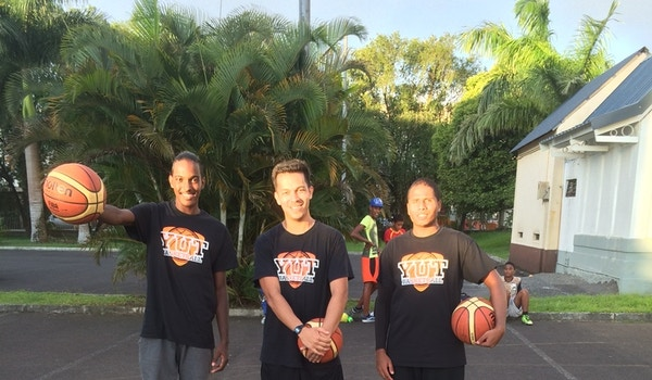 Yut Basketball T-Shirt Photo
