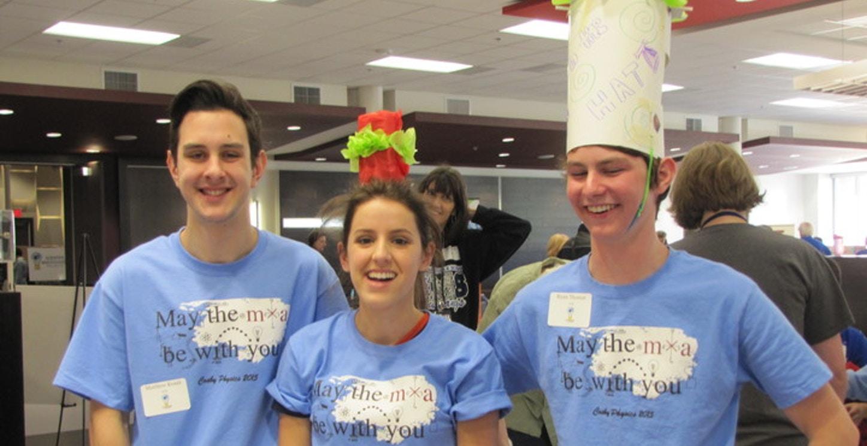 Physics Steam Fair Winners! T-Shirt Photo