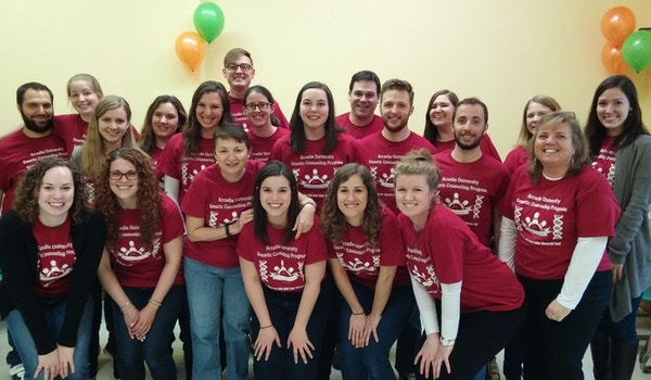 Arcadia Genetic Counseling Bowl A Thon T-Shirt Photo