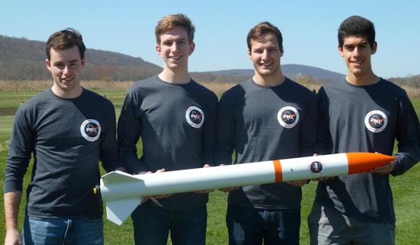 Princeton Rocketry Club Launch T-Shirt Photo