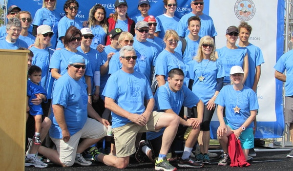 Team Kira Make A Wish San Diego T-Shirt Photo
