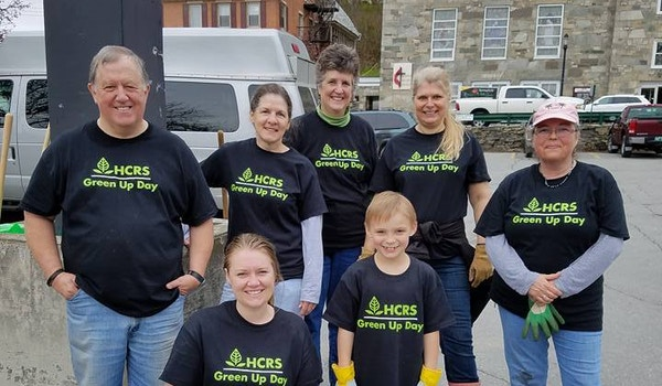 Hcrs Supports Green Up Day Vermont T-Shirt Photo