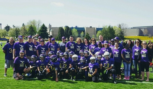Cs Vikings Spring Football T-Shirt Photo
