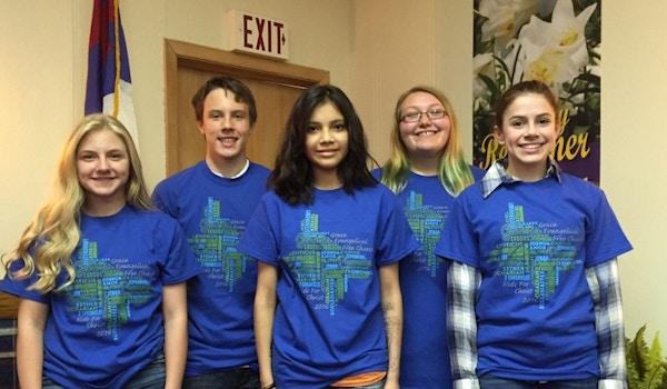 Grace Evangelical Free Church: Jr. High Kfc  T-Shirt Photo