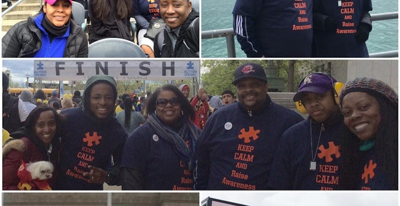 Team Ryan Chicago Autism Speaks Walk T-Shirt Photo
